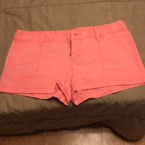 Mission Supply Co. neon orange shorts Size 9